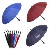 16 Ribs Auto Open Straight  Umbrella