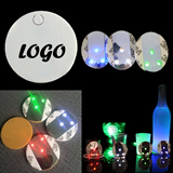 3 LED Bottle Coaster/Sticker