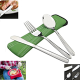 3 Pieces Set Stainless Steel(Knife, Fork, Spoon)