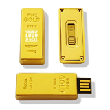 4GB Gold Bar USB Flash Drive