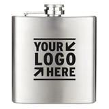 6oz Stainless Steel Hip Flask