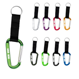 8 Mm Carabiner With Key Chain