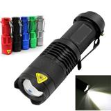 Aluminum flashlight