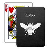 Baronet White Poker Size Playing Cards w/Regular Face