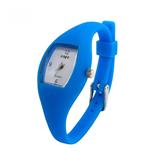 Barrel Quartz Silicone Watch lady design
