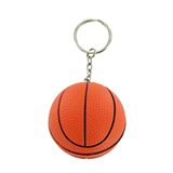 Basketball Stress Reliever Keychain