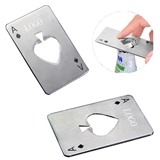 Bottle Opener Games Play Card Shaped A