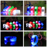 Button control led bracelet