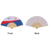 Cloth Bamboo Folding Fan