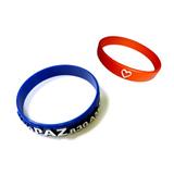 Convex Shape Silicone Wristband
