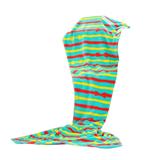 Coral Velvet Fish Tail Blanket/Living Room Mermaid Blanket