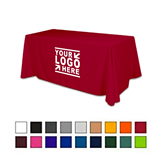 Custom Printed Full Color Dye Sublimation Table Cover