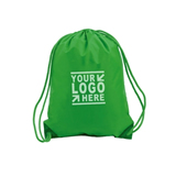 Drawstring Cotton Canvas Backpack