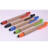 ECO Touch Pen Paper Ballpoint Pen