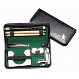 Executive Travel Indoor Golf Wooden Club Putter Kit