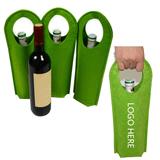 Felt Wine Tote - Single