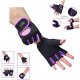 Fingerless Riding Gloves