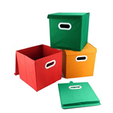 Foldable Non-woven Storage Bin