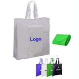 Foldable shopping tote