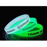 Glow silicone bracelet