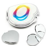 Heart Shape Cosmetic Pocket Mirror