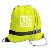 Hig-Vis Reflective Drawstring Bag
