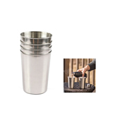 High Quality Stainless Steel Drinking Cup Set