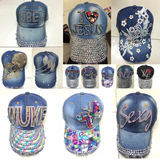 Jeans Cowboy Adjustable Hats
