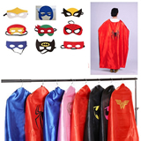 Kids cape with mask