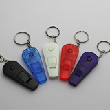 LED Keychain with Whistle