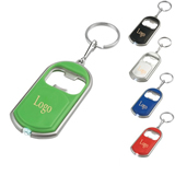 LED Light Bottle Opener Keychain