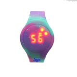 LED Silicone Watch Round shape