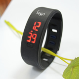 LED Silicone Wrist Watch
