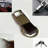 Leather Strap Metal Key chains