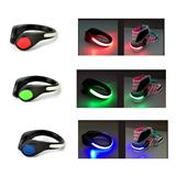 Light Emitting Shoe Clip Flashing LED Reflective