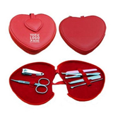 Manicure Set With Leather Cover