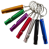 Metal Whistle Keychain