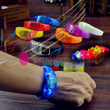 Motion Activated LED Stretchy Bangle Bracelet