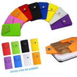 NEW Silicone phone wallet with clip