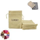 Natural Linen Pouches Gift Bag