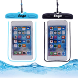 Noctilucent Waterproof Phone Bag With Lanyard
