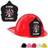 Plastic Fire Chief Hats