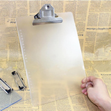 Plastic Transparent Clipboard  for A4 Paper