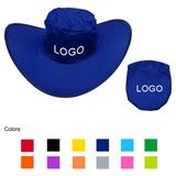 Polyester Folding Cowboy Hat