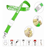 Polyester Lanyard with Bottle Opener Attached