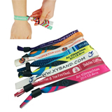 Polyester Woven Wristbands for Events