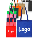 Promotional tote bag made of 80gsm non woven polypropylene