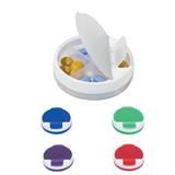 Round Pillbox W/ 4 Case