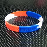 Segmented silicone bracelet