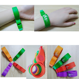 Silicone Bracelet with Whistle